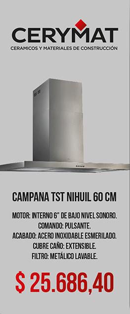 Campana TST Nihuil 60 cm