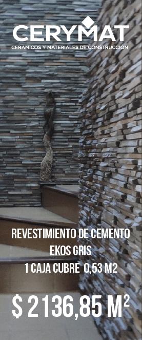 Revestimiento de cemento Ekos Gris
