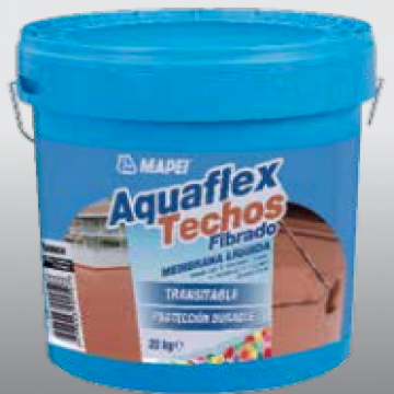 Membrana Liquida Mapei Aquaflex Fibrado X 20 Kgs. Blanco