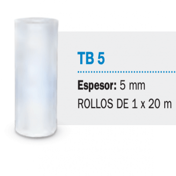 Fieltro Isolant Tb5 5 mm X 20 M