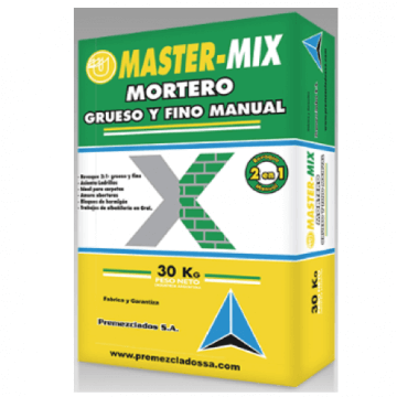 Mortero Ultra Master Mix 2:1 X 30 Kgs.