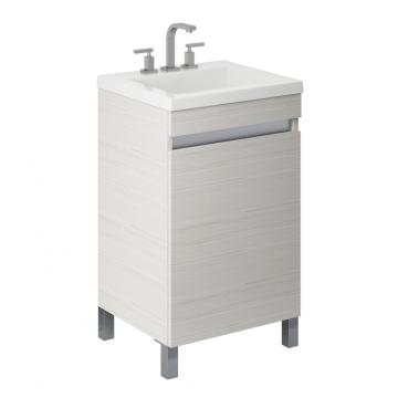 Vanitory Schneider Aqua 50 Cm Blanco Texturado