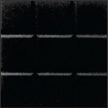 Baldosa Vereda Panes X M2 Negro