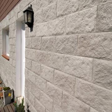 Revestimiento de cemento Roca Gris Cj X 0,48 M2