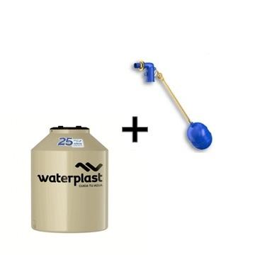 Tanque Waterplast 525 Litros + Flotante de 1/2