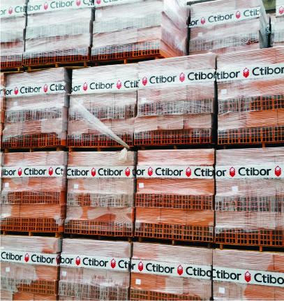 Ladrillo Hueco Ctibor X Unidad 12 X 18 X 33