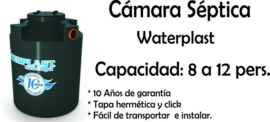 Camara Septica 8 A 12 Personas Waterplast