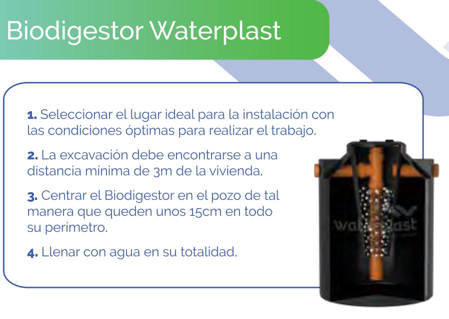 Tanque Biodigestor 600 Lts Waterplast