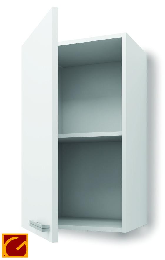 Alacena Itar Silvery Horizontal 60 cm Blanco