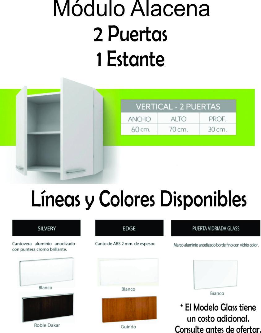 Alacena Itar Portamicroondas Abierto
