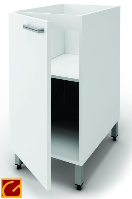 Bajo Mesada Itar Slim 50 cm Blanco