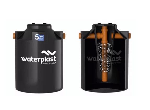Tanque Biodigestor 3000 Lts Waterplast