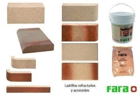 Tejuela Refractario Fara Canto Redondo Lateral 229X114X20