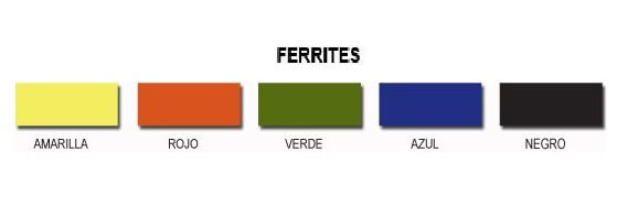 Ferrite Juntamax  1 Kg. Rojo
