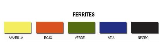 Ferrite Juntamax  1 Kg. Verde