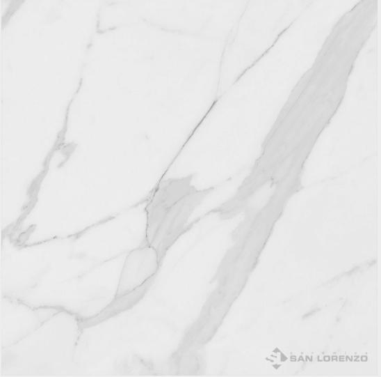 Porcelanato Calacata Pulido Bianco 57,7 x 57,7 Ceramica San Lorenzo