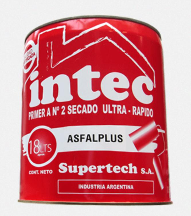 Pintura Asfaltica Secado Rapido 18 Lts. Supertech