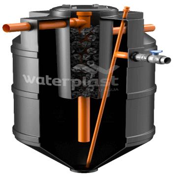 Tanque Biodigestor Autolimpiable 1100 LTS