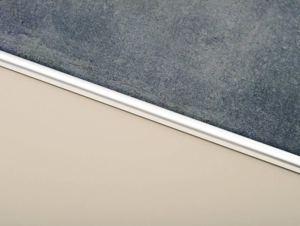 Guardacanto Arco 1580 10 mm x 2.50 m Acero Inoxidable