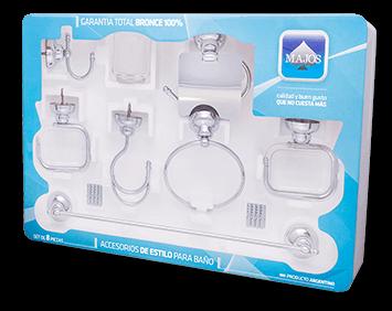 Kit de accesorios 8 piezas Majos C2
