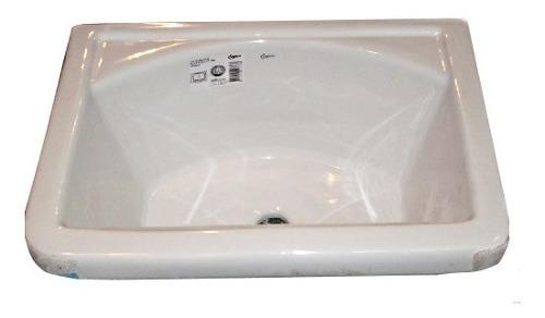 Pileta de Loza Lavadero Con Fregadera 0,507 X 0,345