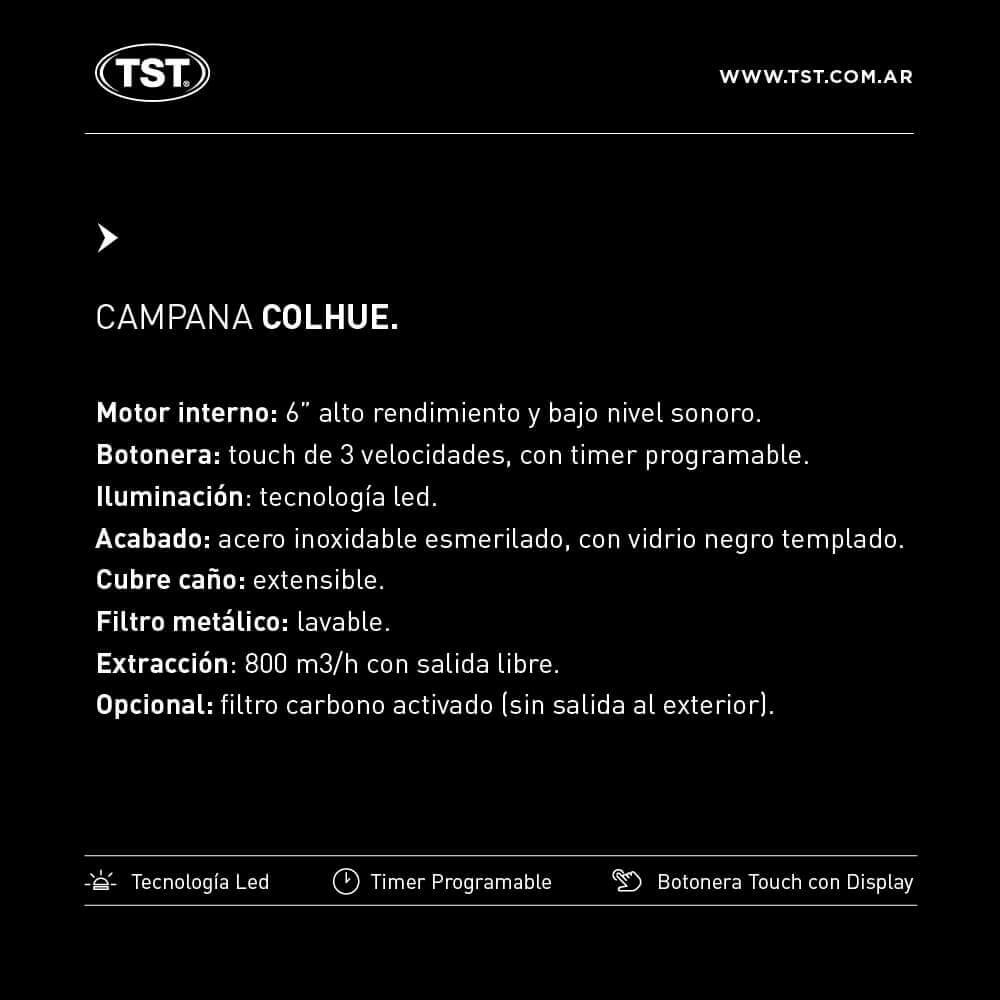 Campana TST Colhue 60 cm