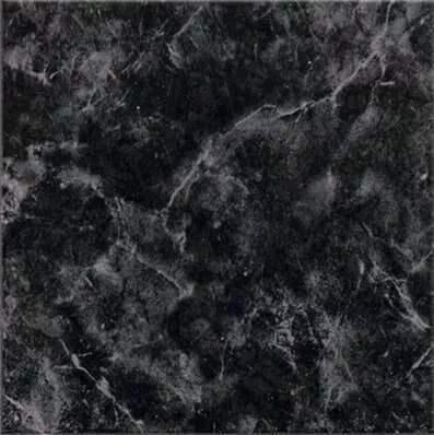 Ceramico Cortines Marquina Negro 40 X 40 Cj.1,76 M2