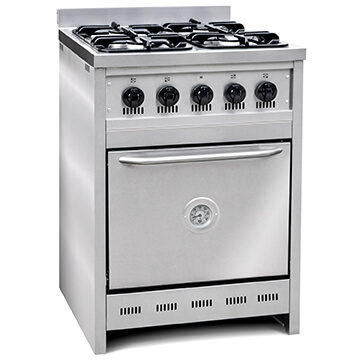 Cocina TST Semi-Industrial 60 cm