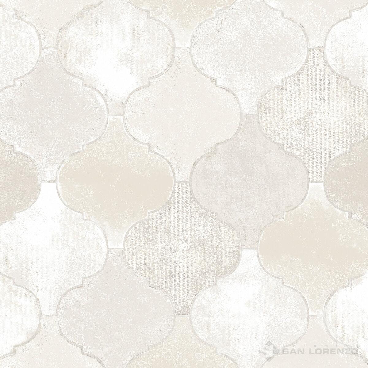 Ceramico San Lorenzo Unique Marfil 45,3 X 45,3 Cj. 2,05 M2