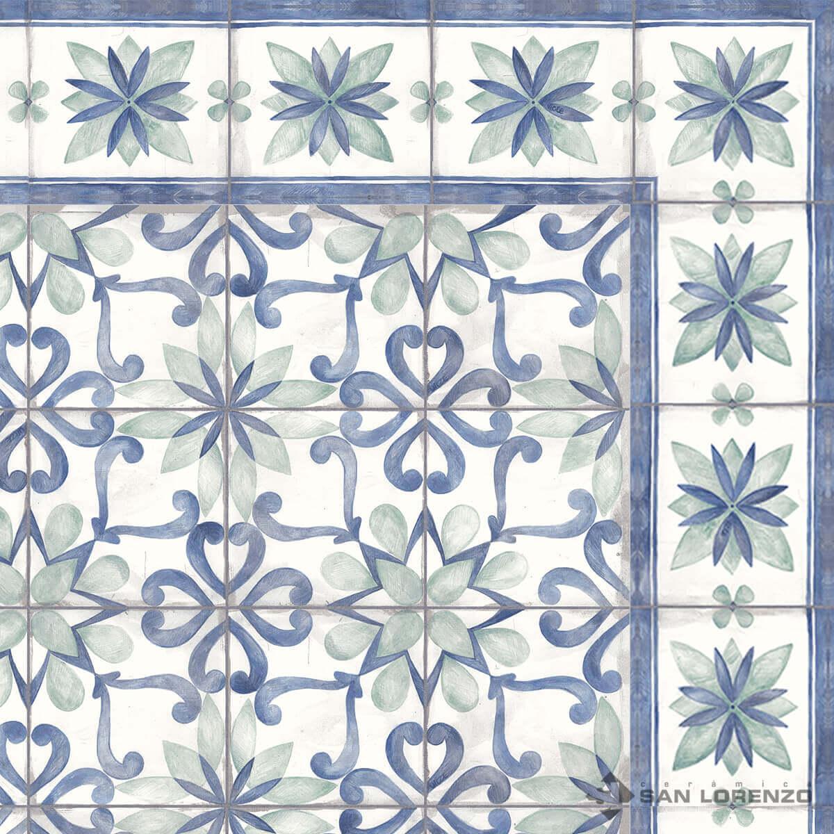 Guarda San Lorenzo Blau 14 X 58 Cj.0,97 M2