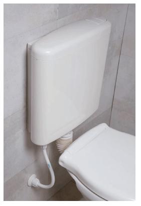 Mochila para baño Ideal Extra Chata Con Descarga Dual