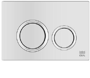 Tecla Dual Ideal Linea Ritmo Blanca 80010