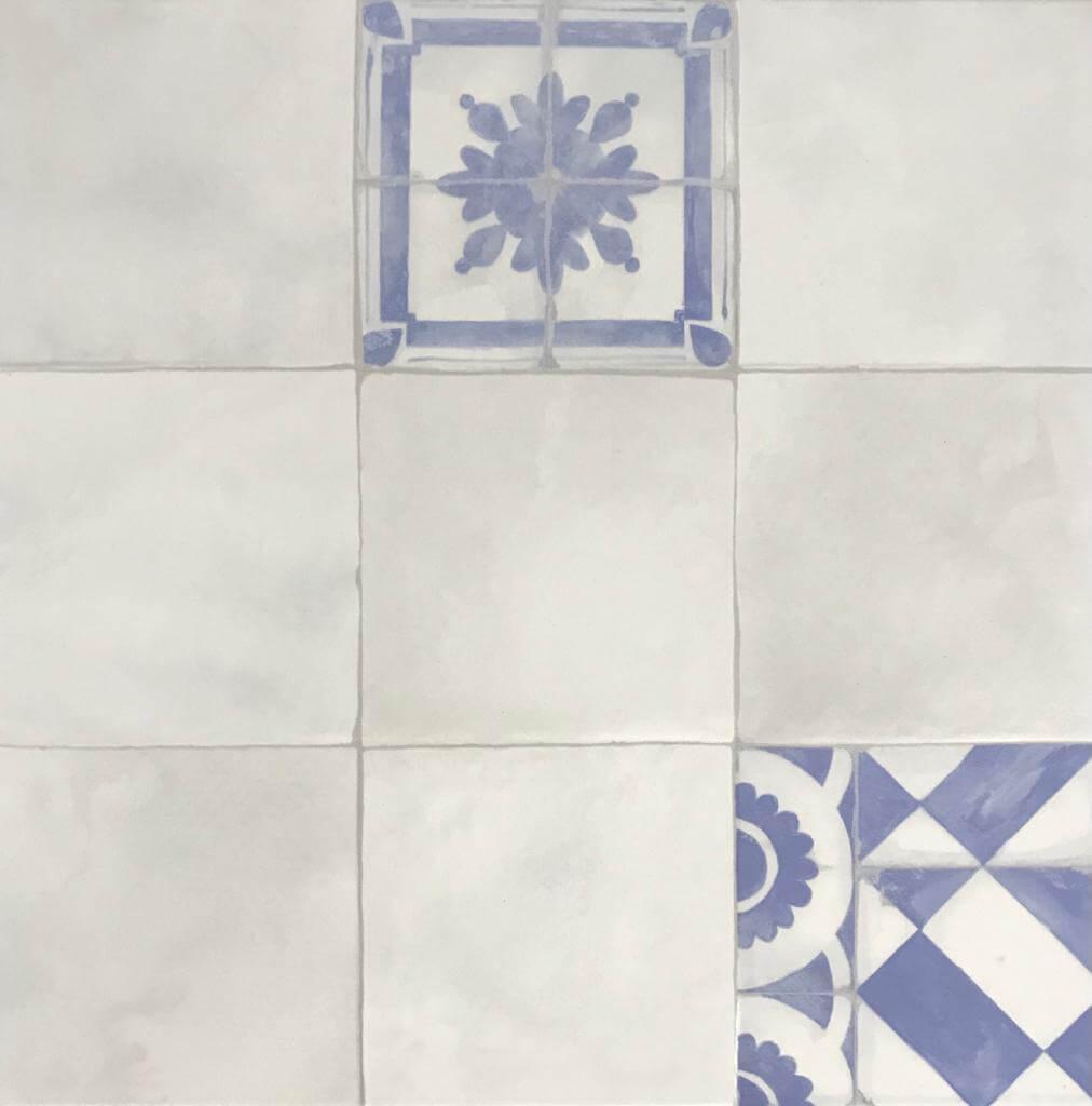 Ceramico San Lorenzo Mediterrani Decorado 45,3X45,3 Cj.2,05 M2