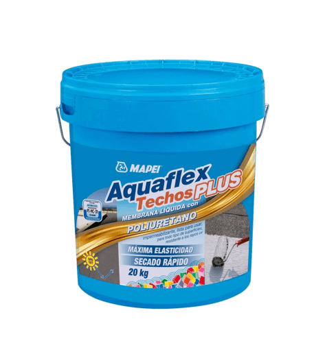 Membrana Liquida Mapei Aquaflex Techos Plus X 20 Kgs Blanco