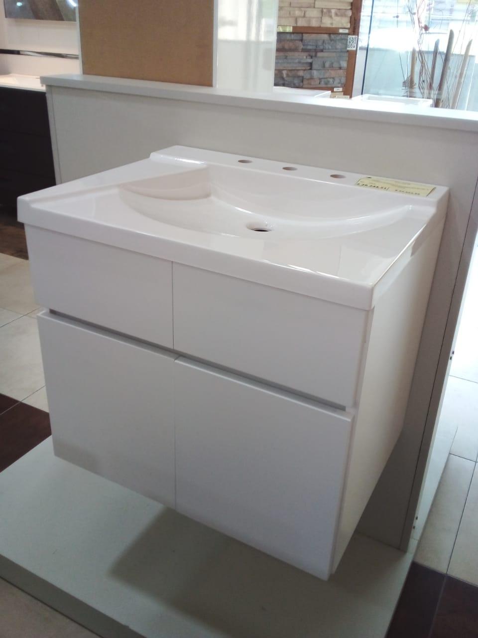 Vanitory Schneider Atenas Colgante 60 cm Blanco