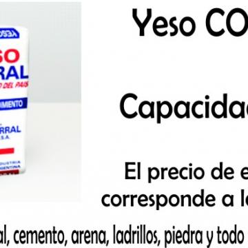 Yeso Corral  X 40 Kgs
