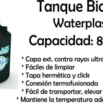 Tanque de Agua Bicapa 850 Lts Waterplast