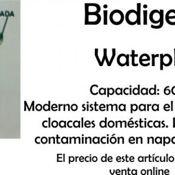 Tanque Biodigestor 1100 Lts Waterplast