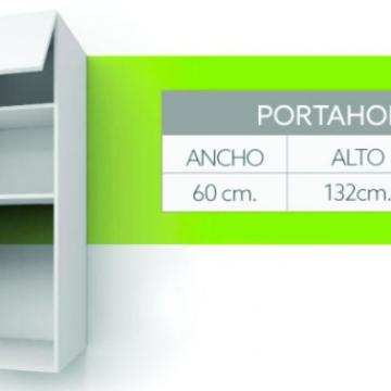 Alacena Itar Slim Portahorno 60 Cm Blanco