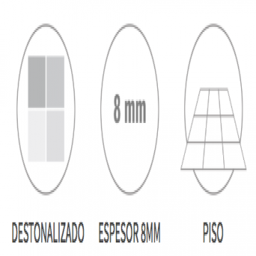 Ceramico San Lorenzo Taracea Brillo Mix 45,3X45,3 Cj.2,05 M2