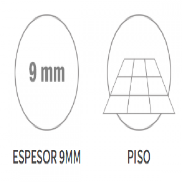 Porcelanato Esmerilado San Lorenzo Cardon Roble 58X58 Cj.1,35