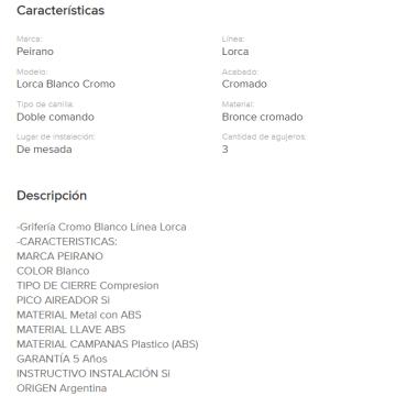 Juego Cocina  Mesada Peirano Lorca 51-010