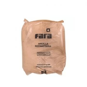 Arcilla Refractario Fara  X 10 Kg