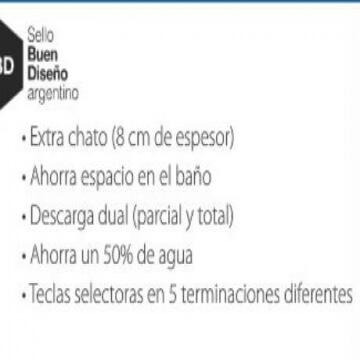 Deposito Embutir Ideal Suma con Descarga Dual 81000