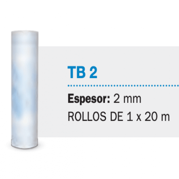 Fieltro Isolant Tb2 2 mm X 20 M