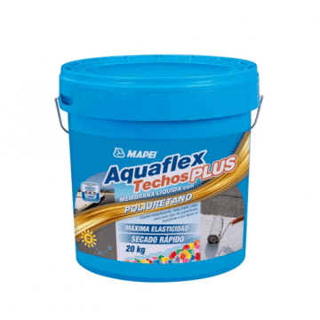 Membrana Liquida Mapei Aquaflex Techos Plus X 5 Kgs Blanco