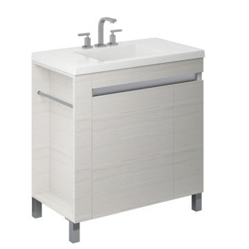 Vanitory Schneider Aqua 80 Cm Blanco Texturado