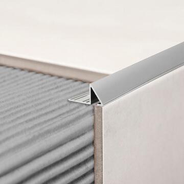 Guardacanto Prisma Aluminio Atrim 2851 Cromo Brillante