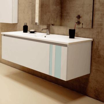 Vanitory Schneider City Blanco 120 cm