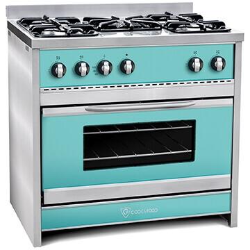 Cocina TST Chiara Verde 90 cm